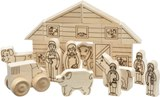 Maple Landmark Schoolhouse Naturals Farm Play Set Made in USA