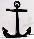 North Country Anchor Bookend - American Made