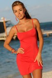 Sexy Red Beach Dress Made in USA