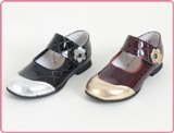 Children's Strap Dressy Patent Leather Shoe Made in America