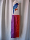 Blue Parrot Windsock Made in USA