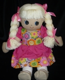 Vianca Rag Doll Plus Choice of Dress-Made in USA