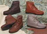 Women's Walking American Made Boots Cowhide/TPR Sole by Footskins