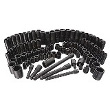 Craftsman 95 pc. Easy Read Impact Socket Set, 6 pt., 3/8 & 1/2 in. Dr.