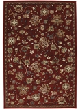 Mohawk Dryden Emerson Crimson Area Rug Made in America