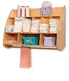 Whitney Brothers - NewWave Hanging Diaper Storage - American Made