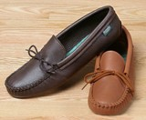 Footskins Softsole Moccasins - Deertan Leather - American Made