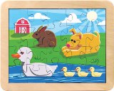 Duck Pond Puzzle Made in USA by Maple Landmark