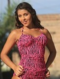 Hot Neon Tankini  - American Made