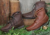 "Footskins Men's Walking Boots/Crepe Sole Boots - American Made -<FONT FACE=""Times New Roman"" SIZE=""+1"" COLOR=""#FF0000""> On Sale Now! </font>-"