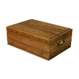 Oak Flatware Chest American Made