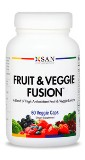 Fruit & Veggie Fusion - high antioxidant Made in USA