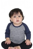 Infant Raglan Baseball Shirt American Made
