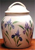 American Made Cookie Jar - Iris