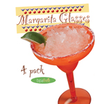 MARGARITA GLASS Made in USA - 8 PK SET