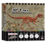 Cast and Paint Kit - Skullduggery T-Rex - 30 inch Diorama