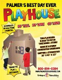 PalmersBest Day Ever Playhouse Made in USA