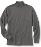Long Sleeve Mock Turtleneck  American Made