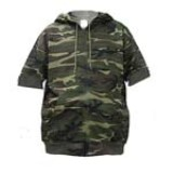 Big & Tall American Made Short Sleeve Camo Sweatshirt