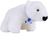 Polaris Stuffed Polar Bear Made in America