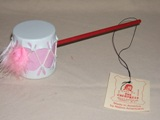 Large Pink Indian Rattle - American Made