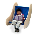 Rocking Reader Chair - American Made