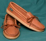 Footskins Women's Molded Sole Moccasins  - made in USA