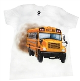 Kids School Bus T-Shirt Made in USA
