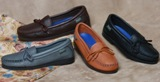 Women's Deerskin Slip-On Shoes  - Made in America