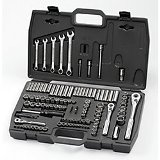 Craftsman Combo Drive Socket Set, SAE/Metric, 118 Pc