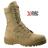 340 DES - Belleville Hot Weather Flight and Combat Vehicle (tanker) Boot Made in USA