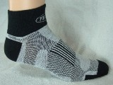 Techni-Wool Quarter Socks - 3  Pairs - Made in USA