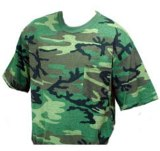Camo Short Sleeve Pocket T-Shirt Made in USA