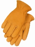 Genuine Heavyweight Smooth Grain Elkskin Amerian Made Gloves