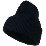 Big Stretch Waffle Stitch Cuff Beanie Made in America