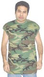 Camoflauge Muscle Shirt Made in USA