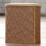 Lamont Carter Upright Hamper -  Made in USA