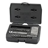 Craftsman Socket Set, Std, 1/4 Dr, SAE/Metric, 27 Pc