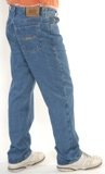 Relaxed Fit  Men's 100% Cotton Denim Jeans Made in USA