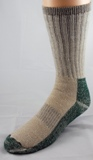 Heavy Weight Merino Wool Crew Socks Made in USA - 2 Pairs