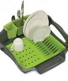 Self Draining Sink Dish Rack Made in USA