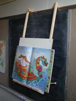 Beka Hanging Easel - Big Book Option American Made