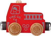 Maple Landmark Color Cars - Fire Truck - Made in USA