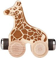 Maple Landmark Color Cars - Jordan Giraffe - Made in USA