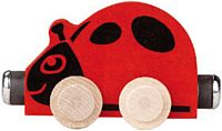 Maple Landmark Color Cars - Lizzie Ladybug - Made in America