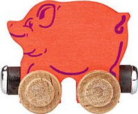 Maple Landmark Color Cars - Penelope Pig - Made in America