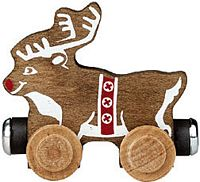 Maple Landmark Color Cars - Rudy Reindeer - Made in USA