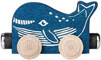 Maple Landmark Color Cars - Wally Whale - American Made
