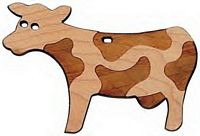 Maple Landmark Cutout Maple - Cow