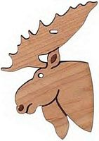 Maple Landmark Cutout Maple - Moose